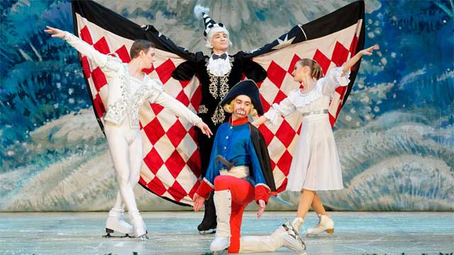 מפצח האגוזים על הקרח – התיאטרון הלאומי הרוסי על הקרח סנט פטרסבורג