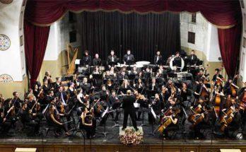 התזמורת הסימפונית עש מנדי רודן.